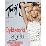 Glossy monthly women's Polish language magazine about fashion, style, travel, current affairs, crafts, food trends and recipes, shopping and much more.