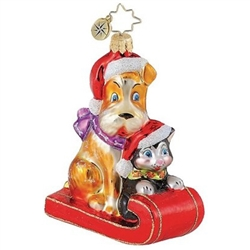 The 2010 Christopher Radko Animal Welfare Ornament.
