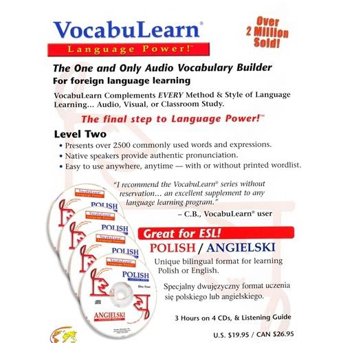 VocabuLearn Polish Level 2 - 4CD Set