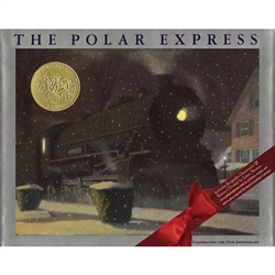 For twenty-five years, The Polar Express has been a treasured holiday classic. To commemorate this special anniversary, a lavish gift edition has been created. The set includes a silver foil border, a CD audio recording read by Liam Neeson, a note from Ch