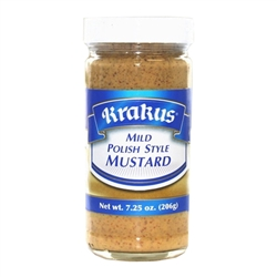 Krakus Mild Polish Style Mustard.  Great on kielbasa sandwiches!