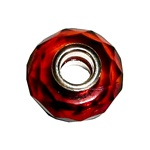 Rich deep color amber with cuts to reflect light and create a natural sparkle.  A perfect gift for that special person.
