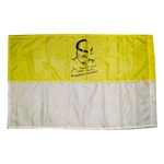 May 1, 2011 marks the day John Paul II becomes a saint.  This Vatican flag commemorates that day.  Display it proudly.  Material recommended for indoor only.