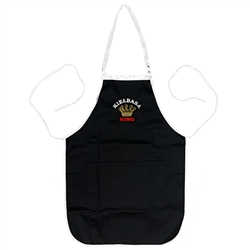 "A perfect gift for that special ""Pole""!  A black kitchen apron, with the words: ""Kielbasa King"" embroidered on the front panel.  Great for indoor use or that summer barbecue."