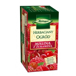 Another delightful Polish tea made from raspberry, hibiscus, cranberry and aroma.