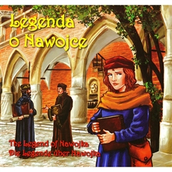 Nawojka lived in Krakow and was was threatened with the stake for studying!  The story has a good ending that will endear girls to follow their quest for knowledge. In fact, the first women's residence at the famous Jagiellonian University bears her name!