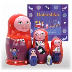 Babushka lives on her own in a cottage where everything is as neat as a pin. But she is so busy cleaning and polishing that she hardly notices the miraculous events going on around her. Then a mysterious dream leads her to put her daily worries aside and