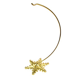 "Suitable for hanging ornaments up to 9"" - 23cm long.  Detachable base."