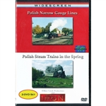 There is only one place in the world where non-tourist steam powered passenger trains run in regular service, and that is in Wolsztyn, Poland.  watch as the trains stop and depart at stations, then race trough the countryside trailing plumbs of smoke. DVD