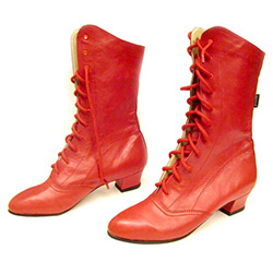 These boots are specifically designed for dancing; hand made using only the finest leather each stitch placed with dancing feet in mind, whether it be a bouncing Polka, an aristocratic Polonez or the traditional Krakowiak.