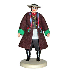 Where ever your tastes lie, from the Goral Szczawnica Man, to a depiction of a Harvest Festival in Dozynki.  Whether you're adding to a collection or just starting one out. These dolls are perfect, clothed in authentic regional folk costumes, as certified