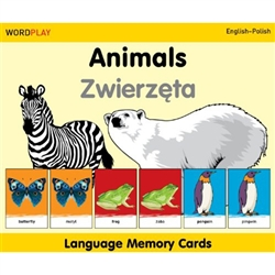Blending language skills and memory enhancement, these cards are sure to challenge young minds while broadening their horizons. Underscoring two themes guaranteed to engage children—animals and transportation—each deck contains two sets of 30 illustrated