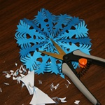 Learn to make a traditional Wycinanki Paper Cutting! <br> The class is 1.5hours long, all materials are provided. <br> Teacher is Joan Bittner