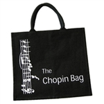 "The Chopin Bag is the ""shoppin"" bag name for this heavy duty, environmentally friendly lined shopping bag.  Made in England"
