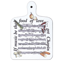 Cute decorative hanging board.  Made from English melamine.