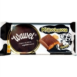 Wawel chocolates are made in Krakow.  This is a rich milk chocolate bar with cream fudge filling (krowki).  Delicious!
