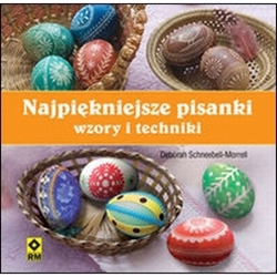 This is a Polish language translation of an instruction book originally published in the U.K in English.  Lots of full color pictures and step by step instructions in Polish for a variety of different egg decorating techniques.