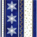 "Polish Folk Art Dinner Napkins (package of 20) - ""Christmas Stars"" - Three ply napkins with water based paints used in the printing process."