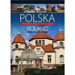 The book presents 21 of the most beautiful Polish spas, famous not only for their curative waters or therapeutic mud, but also fo their  fine historic relics.  Known throughout the world Polish spas remain one of the best bargains even today.