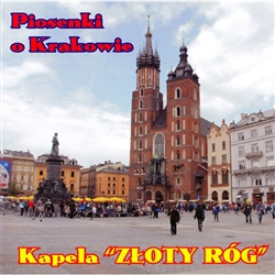 Collection of 22 popular Krakow folks songs by the 10 member folk band Złoty Róg.  This band plays and sings these songs in a very lively folk style that will have you dancing and singing!