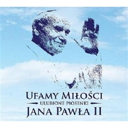 "We trust in love"" is a CD containing the favorite hymns of Pope - John Paul II. A collection of songs that are forever a view  into the heart of Karol Wojtyla."