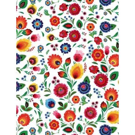 Polish art center polish gift wrapping paper wycinanki themed alternative views negle Choice Image