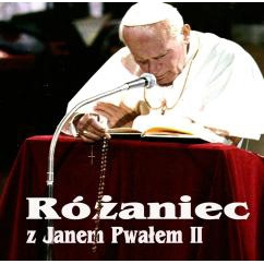 CD of the praying of the rosary in the style of John Paul II and led by Father Robert.