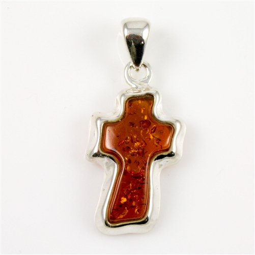 Polish art center amber cross pendant earn mozeypictures Gallery