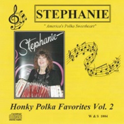 "After all the years of hard work and two successful careers, one as a mother/daughter team known as Wanda & Stephanie, and the other as a solo entertainer, Stephanie finally reached the pinnacle of her career and was inducted into the ""Polka Music Hall of"