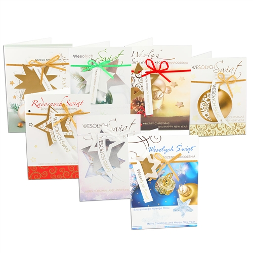 Polish art center assorted polish christmas cards with pop up scene alternative views m4hsunfo