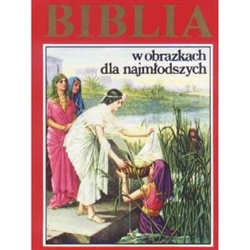 Beautifully illustrated Bible for young readers. Great reading for even the smallest little ones, because even young children can understand great truths, if you tell it to them in simple words.  Polish Language Text Only.