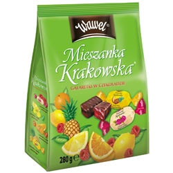 This Polish specialty is just that - special. Named after Poland's most romantic city, these chocolate covered jellies come in a variety of flavors: orange, lemon, pineapple, raspberry. Each jelly is slightly tart, not too sweet and covered with a rich da