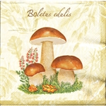 Polish Forest Mushroom (Boletus Edulis) Napkins (package of 20)