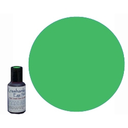 Edible Dye in color Green .7 oz bottle, will mix 3 - 4 batches depending on desired color intensity. Ideal for dyeing eggs Easter Eggs that will be eaten or when working with young children; these dyes are sourced from the food industry and are edible.