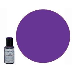 Edible Dye in color Purple .7 oz bottle, will mix 3 - 4 batches depending on desired color intensity. Ideal for dyeing eggs Easter Eggs that will be eaten or when working with young children; these dyes are sourced from the food industry and are edible.