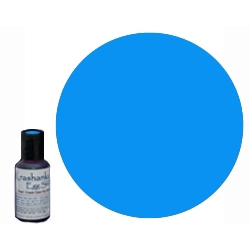 Edible Dye in color Blue .7 oz bottle, will mix 3 - 4 batches depending on desired color intensity. Ideal for dyeing eggs Easter Eggs that will be eaten or when working with young children; these dyes are sourced from the food industry and are edible.