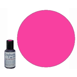 Edible Dye in color Hot Pink .7 oz bottle, will mix 3 - 4 batches depending on desired color intensity. Ideal for dyeing eggs Easter Eggs that will be eaten or when working with young children; these dyes are sourced from the food industry and are edible.