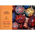 The book discusses methods of decorating and coloring eggs, their stylistic features in different regions of Poland and world traditions associated with them. Features present day and famous pisanki artists, many of whom the author knew personally.  Polis
