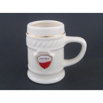 Polish Art Center Mini Porcelain Mug Polska