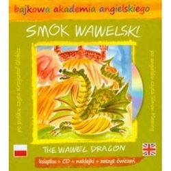 A long time ago at the foot of Wawel hill in Krakow lived a fire breathing dragon.....so the legend goes.  Included in this package is a beautiful hardcover book, stickers, and 15 page activity pamphlet and a CD with the story told in English and Polish.