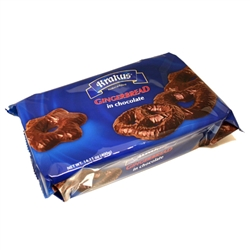 Enjoy a tray of Polish gingerbread shaped into stars, pretzels and hearts and covered in rich dark chocolate.  Delicious!