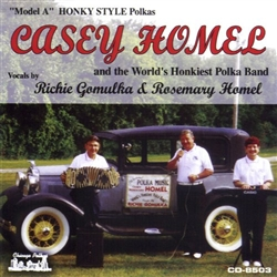 Casey Homel has been playing concertina for 35 years. He plays a star concertina. He started at age 15. He never took any lessons. He plays by ear. He was inspired to play the concertina by his uncle, Mike Ryba, from Pulaski, WI.