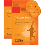 "The textbook and CD set ""We Learn Polish"" is a language course for learners of Polish as a second language. It is suitable for elementary and early intermediate learners of Polish."