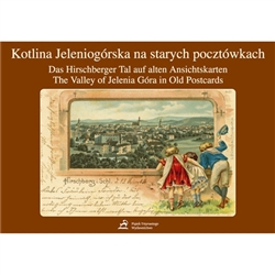 An album containing reprints of 106 archival picture postcards presenting the region`s capital -the town of Jelenia Gora, its vicinity and the Karkonosze Mountains