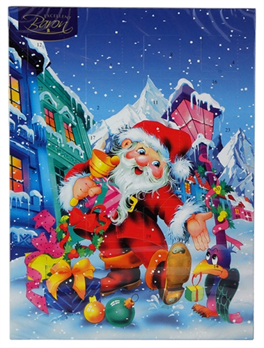 Polish Art Center - Advent Calendar By Baron Chocolate 75g/2.6oz