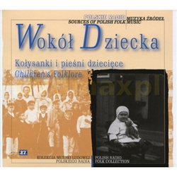Lullabies , children's songs , rhymes and games included on the disc are from the collections of the Polish Radio . The oldest was made in 1974 , the latest in 2009 . Lullabies are half the repertoire included on the album, performed by singers born in th