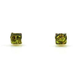 Honey colored amber when painted black on one side changes the color on the other side to appear green.