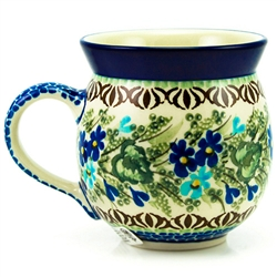 "Designed by master artist Zofia Spychalska. The artist has been connected with the Artistic Handicraft Cooperative ""Artistic Ceramics and Pottery"" since 1989. Since 1997 she has b"