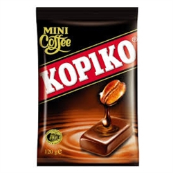 Kopiko Coffee Candy is the world's Number 1 selling coffee candy, made from the finest coffee beans, specially blended to give you enjoyment of real coffee without having to brew. It's like having a cup of coffee wherever you go.