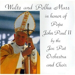 The Waltz and Polka Mass was inspired by the late Father Walter Szczypula, Chaplain of the International Polka Association, at a convention meeting, when he expressed the desire to celebrate a polka mass at the following year's convention.